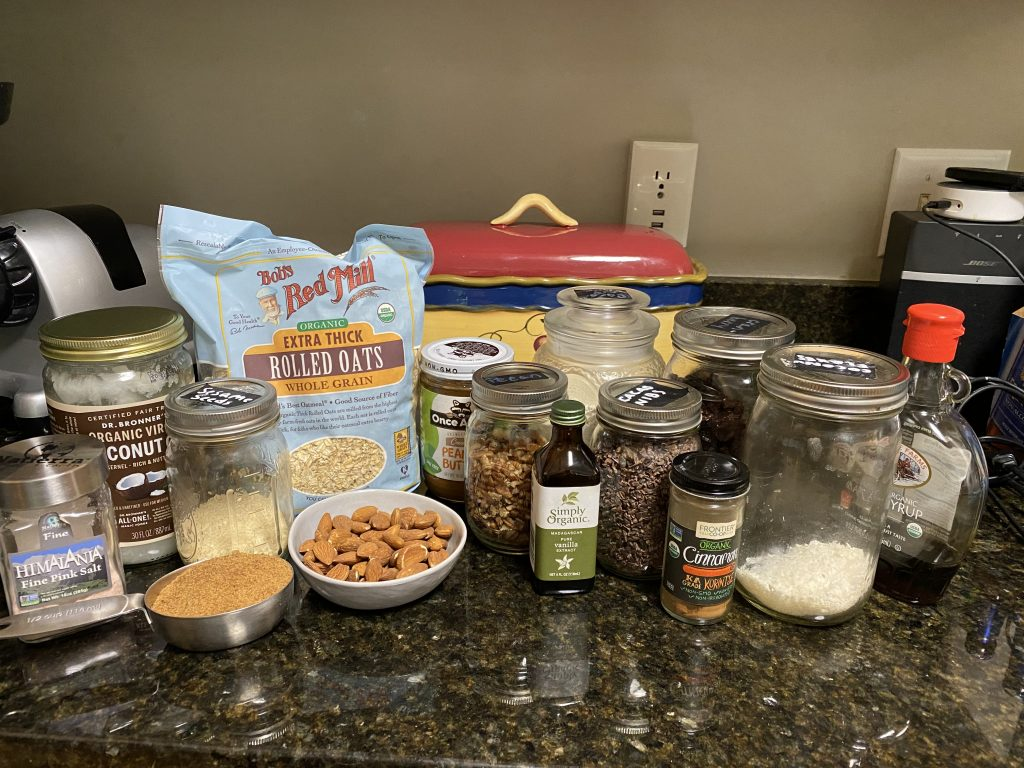 recipe for healthy granola bars