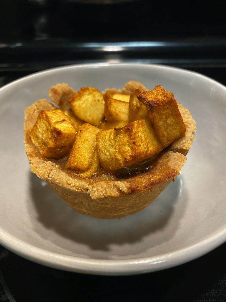 Personal Spiced Apple Tart